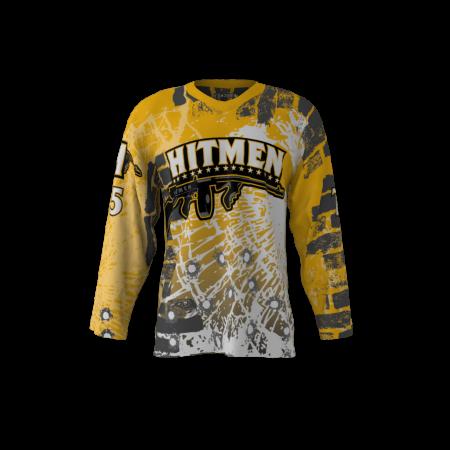 Hitmen Custom Roller Hockey Jersey