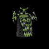 Area Code Black Custom Dye Sublimated Softball Jersey