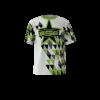 Area Code White Custom Dye Sublimated Softball Jersey