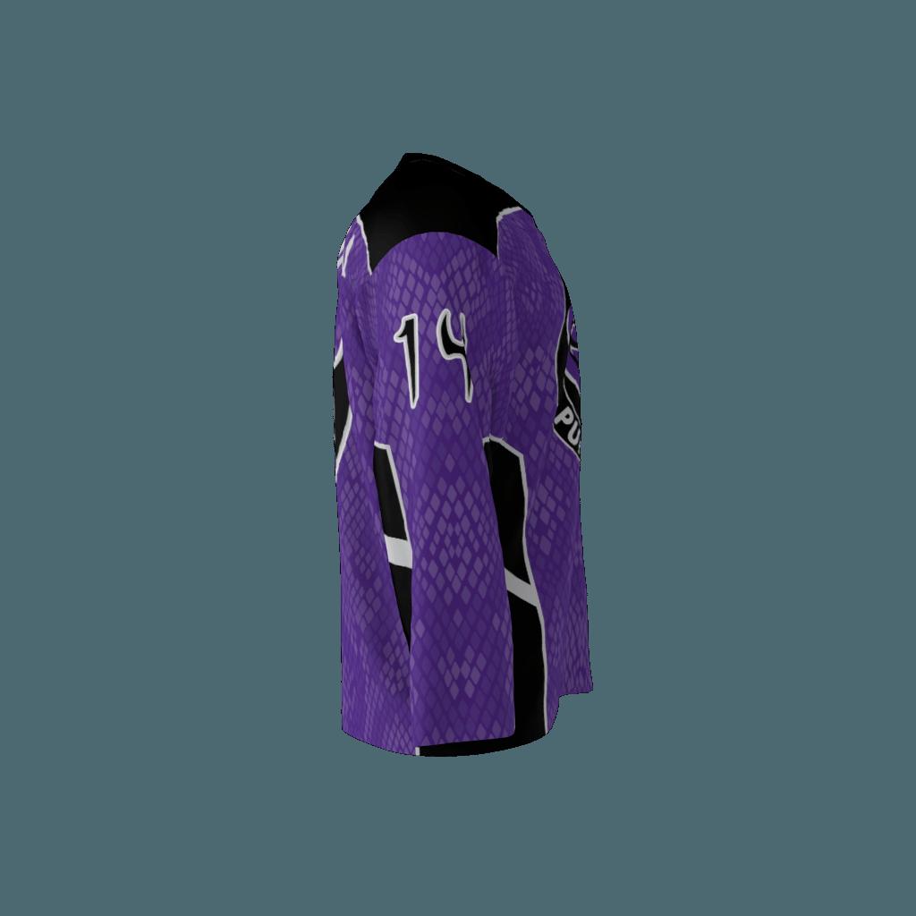 Purple Cobras Custom Dye Sublimated Roller Hockey Jersey