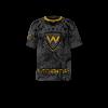 Warriors Custom Dye Sublimated Softball Jersey
