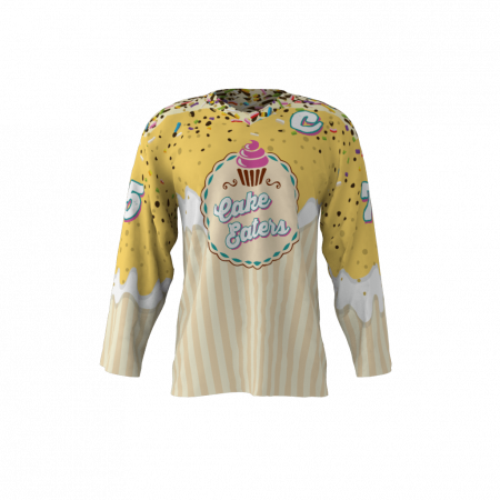 Cake Eaters Custom Dye Sublimated Roller Hockey Jersey