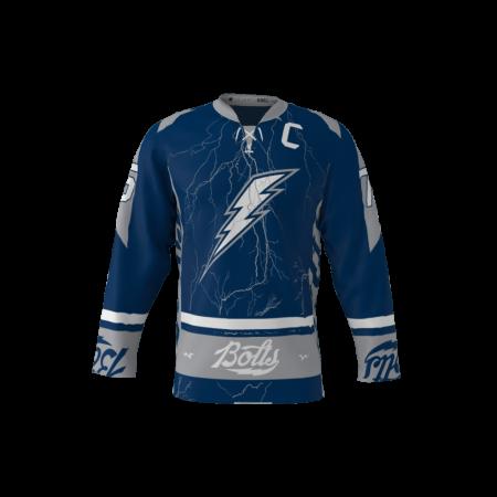 Bolts Custom Dye Sublimated Hockey Jersey
