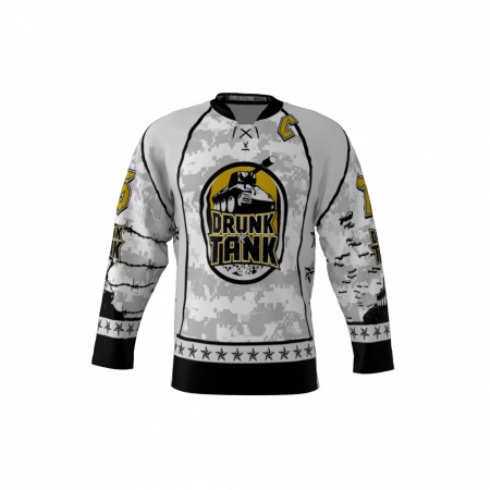 Drunk Tank Custom Dye Sublimated Hockey Jersey