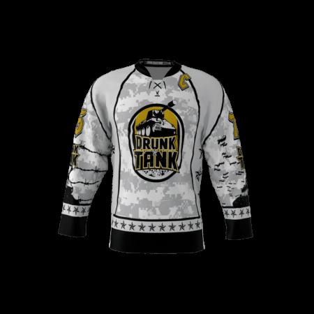 Drunk Tank Custom Dye Sublimated Hockey Jersey