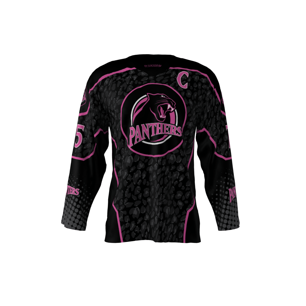 new concept a9a2b 54719 Pink Panthers Jersey