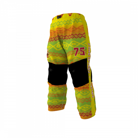 Caliente Pantalones Custom Dye Sublimated Roller Hockey Pants