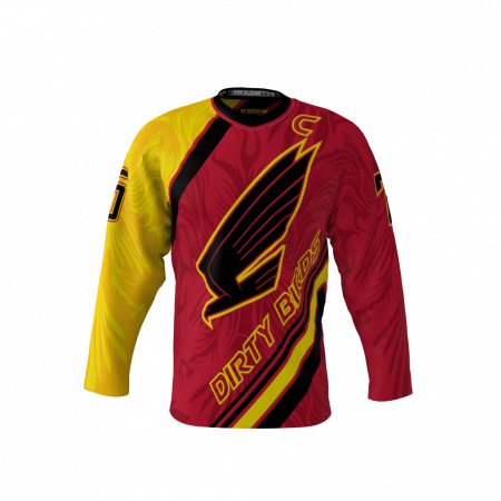 Dirty Birds Custom Dye Sublimated Hockey Jersey