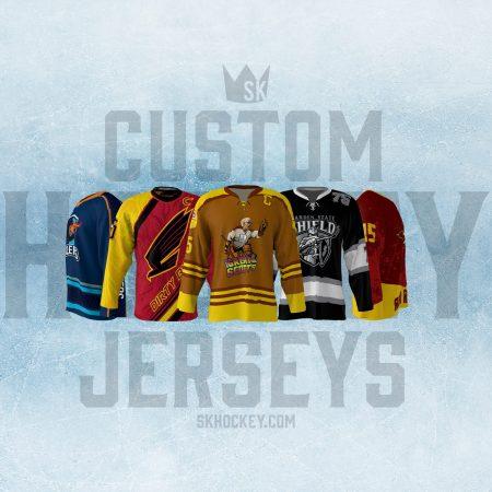 2afce0c9f Custom sublimated hockey, softball, and baseball jerseys