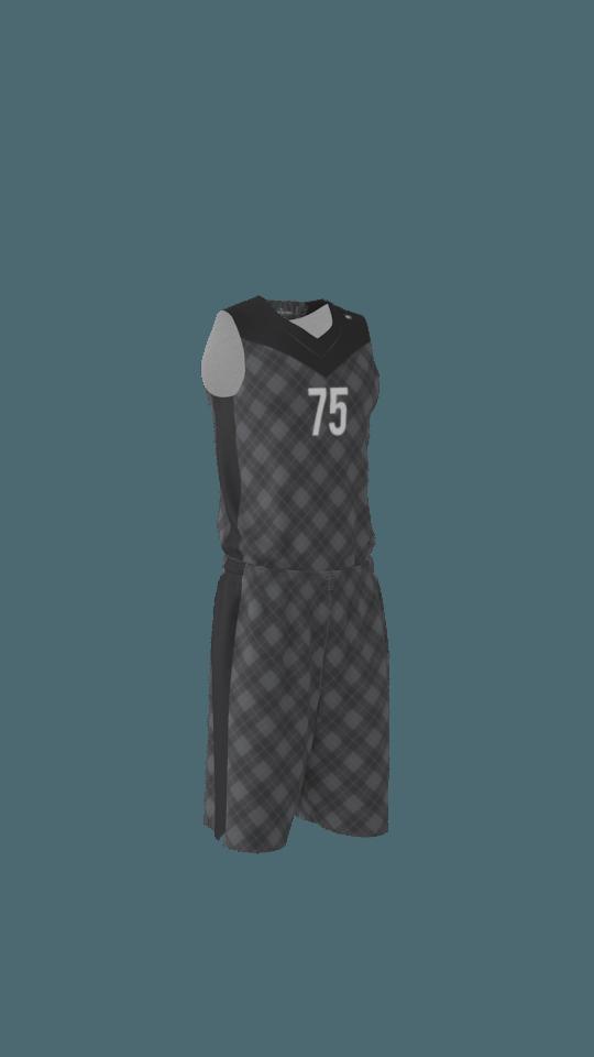 64b5b528b801 Argyle Custom Dye Sublimated Basketball Uniform
