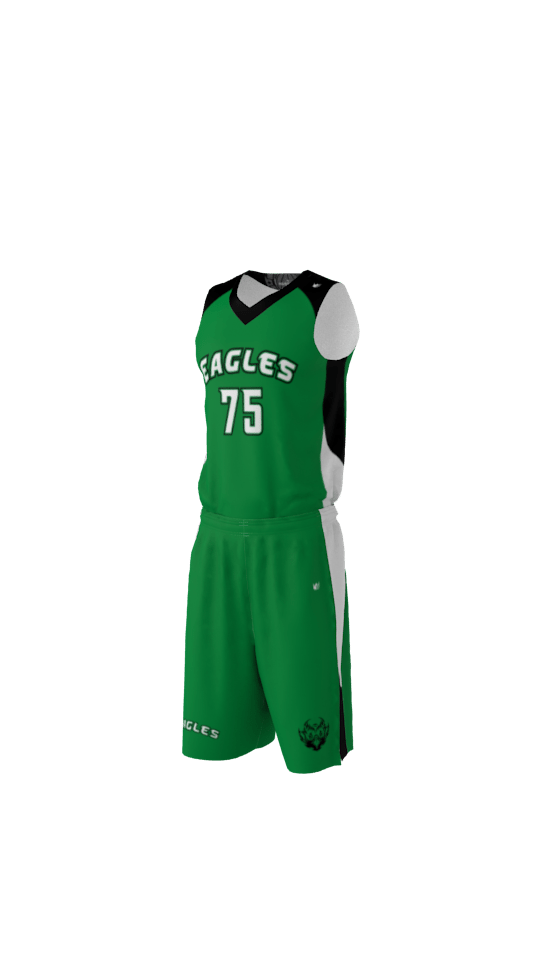 Eagles Basketball Jersey Sublimation Kings