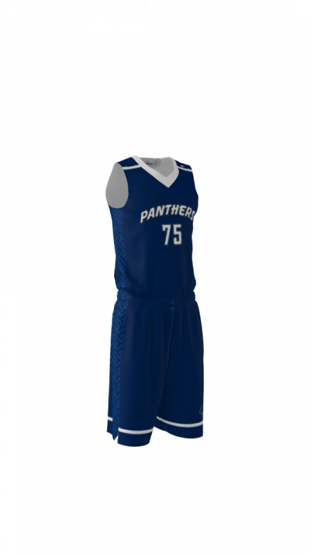 Panthers Custom Dye Sublimated Basketball Uniform