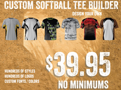 CUSTOM SLOW PITCH SOFTBALL JERSEY BUILDER