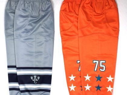 New Custom Dye Sublimated Ice Hockey Socks