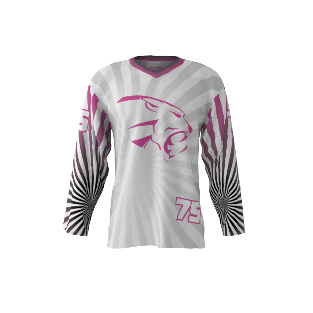 188c4b063 Pink Panthers White Jersey – Sublimation Kings