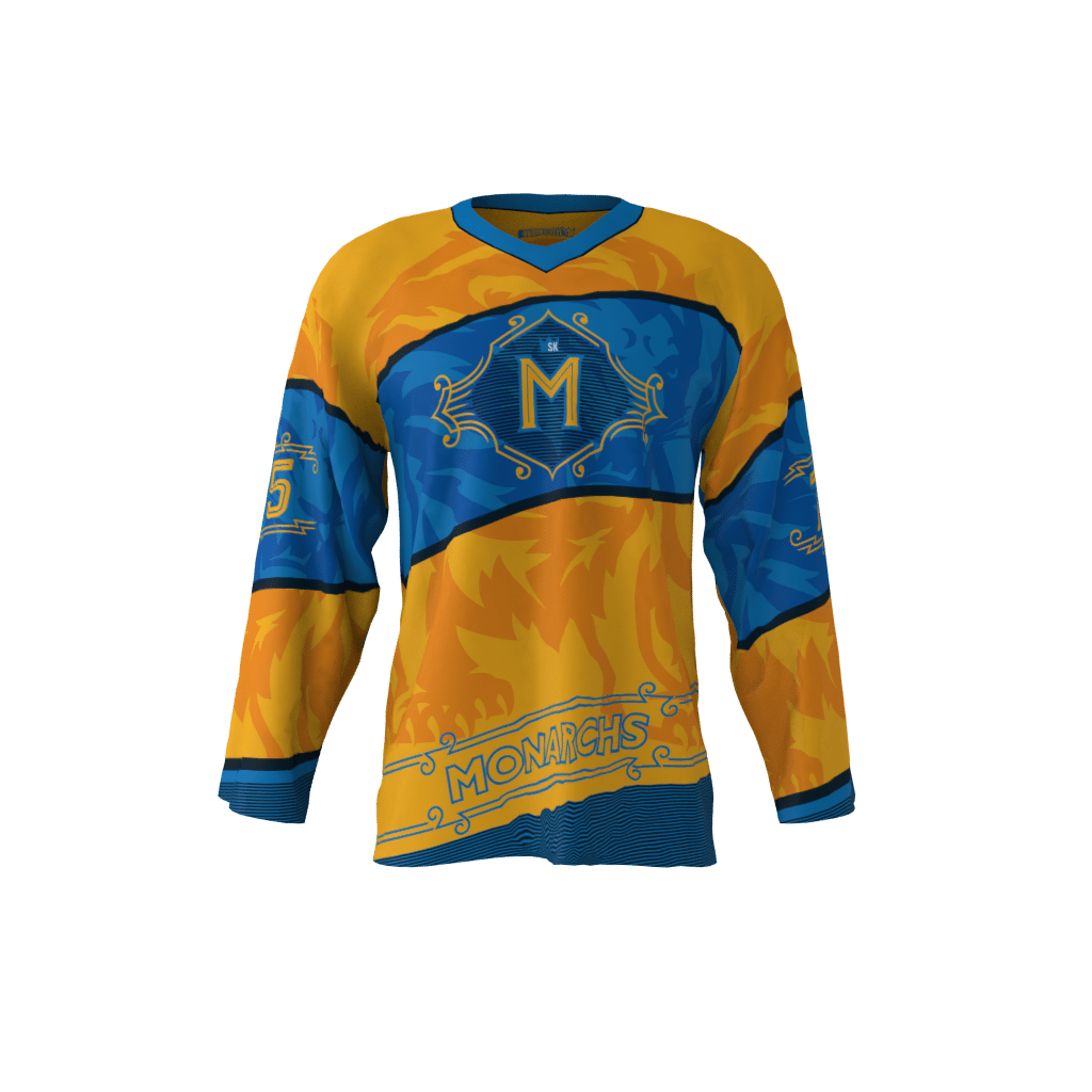 79cdbea85 Monarchs Gold Jersey – Sublimation Kings