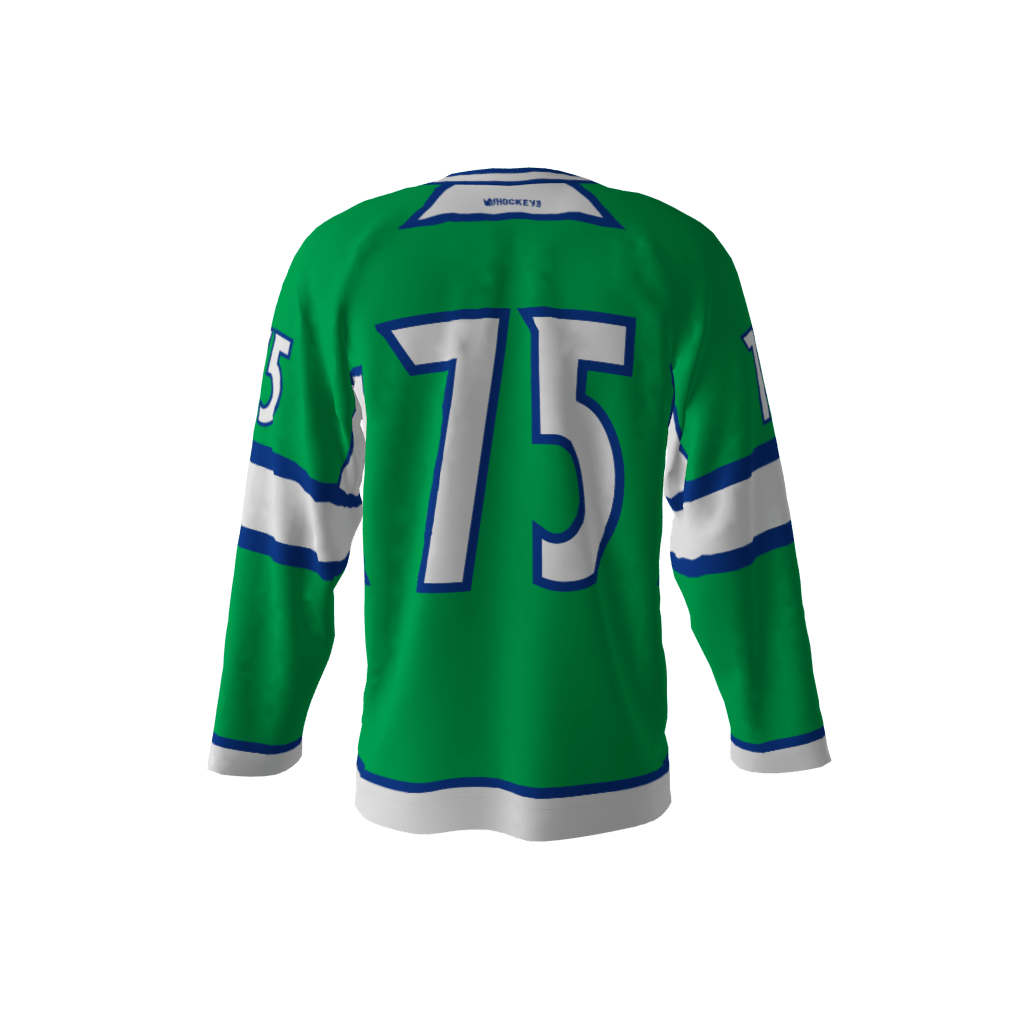 pretty nice e7a78 bc99f Nhalers Green Jersey