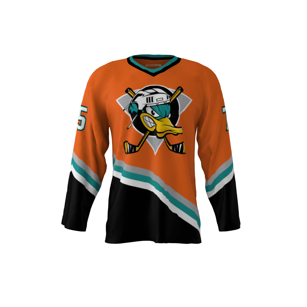 44d89ea5 Ducks Orange Jersey – Sublimation Kings