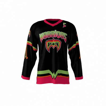 custom sublimated hockey