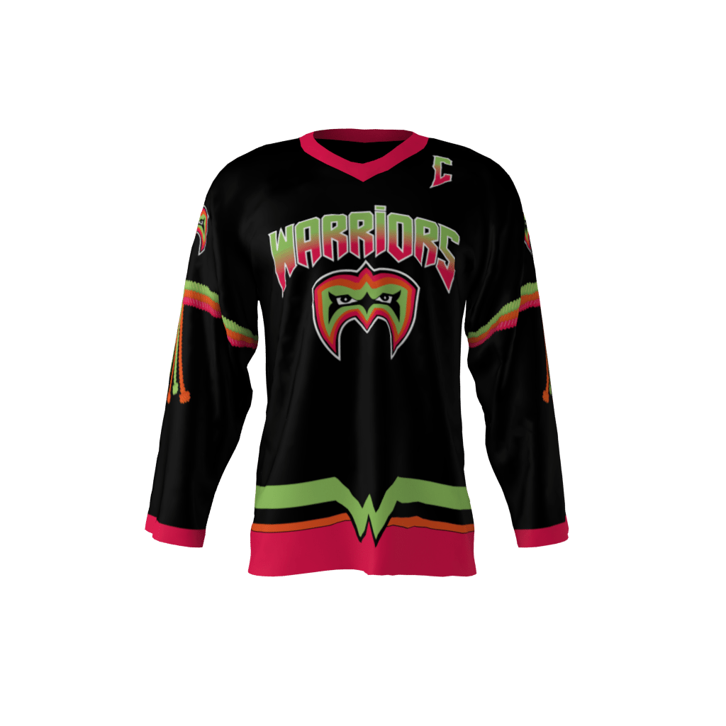 the best attitude 611d6 f3280 Ultimate Warriors Jersey