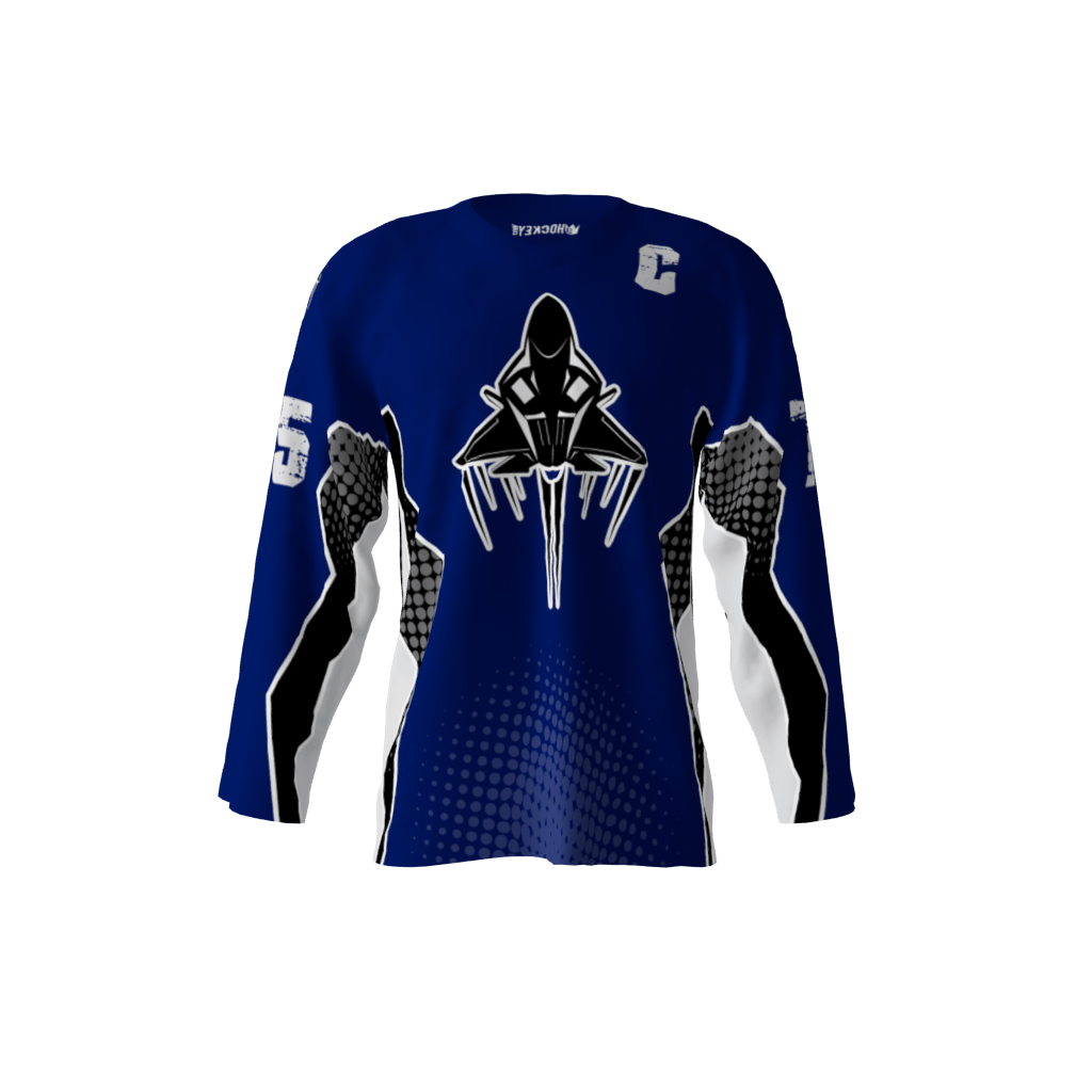 f8dbec7e7 Jets Blue Jersey – Sublimation Kings