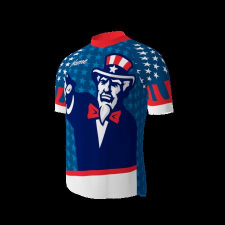 Ol' Glory Custom Dye Sublimated Cycling Jersey