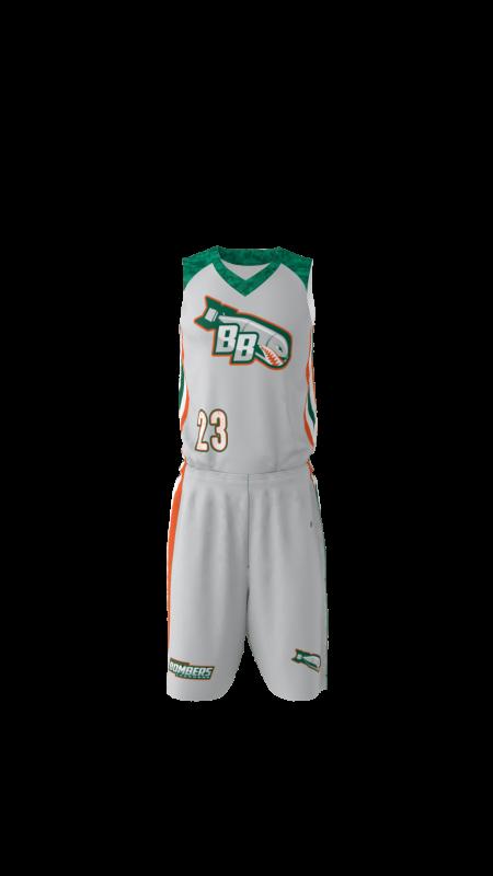 cucstom bombers basketball jersey