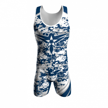 air force custom wrestling singlet