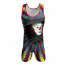 gutter clown custom wrestling singlet