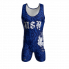 usa custom wrestling singlet