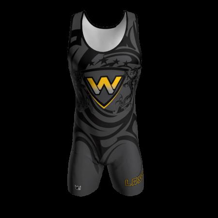 warriors custom wrestling singlet