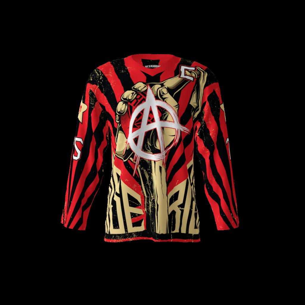 anarchy custom hockey jersey