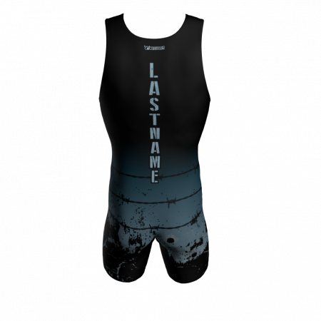 punishers custom wrestling singlet