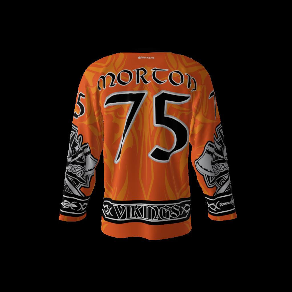 Vikings Orange Jersey – Sublimation Kings ea69cc01c40