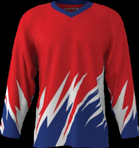 Custom Hockey Jersey Builder Sublimation Kings